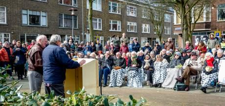 Nabestaanden staan stil bij laatste bombardement op Rotterdam