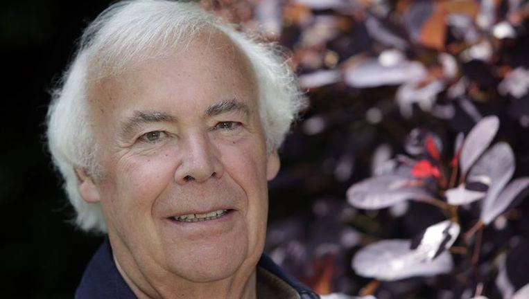 Henk van Hoorn, oud-presentator van het radioprogramma Met het oog op morgen. Foto GPD Beeld