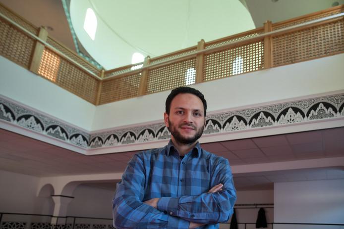 Bestuurslid Farid Boundati, Assalaam Moskee Emmeloord.