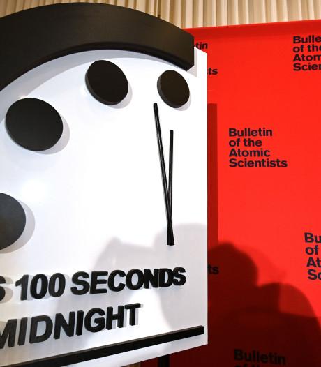 'Doomsday Clock' op 100 seconden voor middernacht gezet