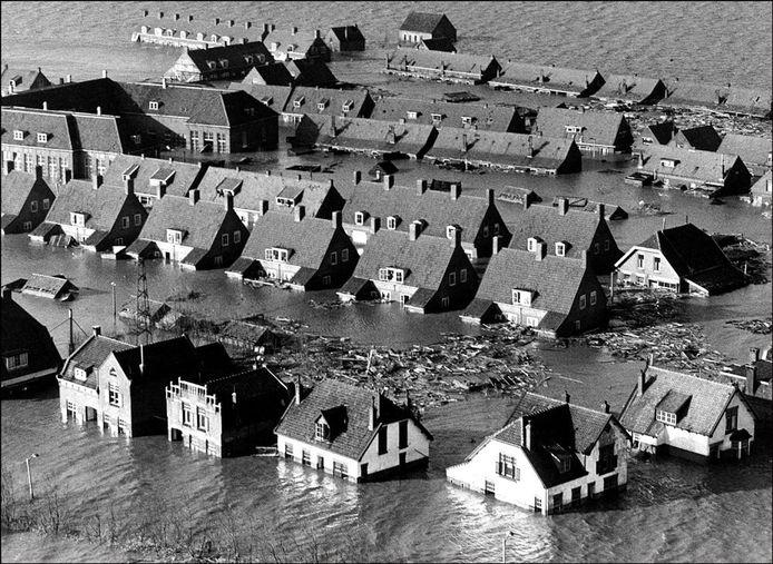 In 1953 liep een deel van Nederland onder water.