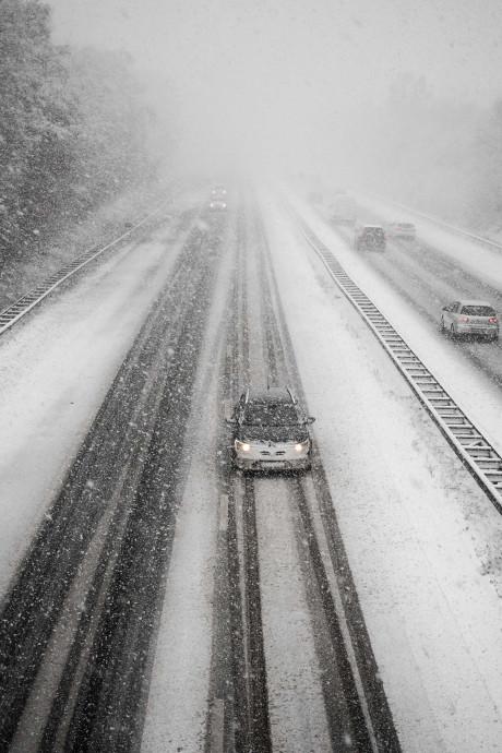 Geen extreme sneeuwval, toch drukste spits ooit: hoe kan dat?