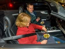 Een sterrengerecht verorberen achter het stuur van je auto: toch uiteten in coronatijd
