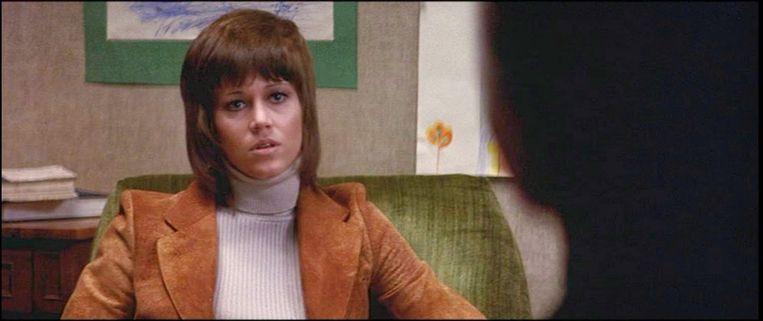 Jane Fonda in Klute (1971). Beeld