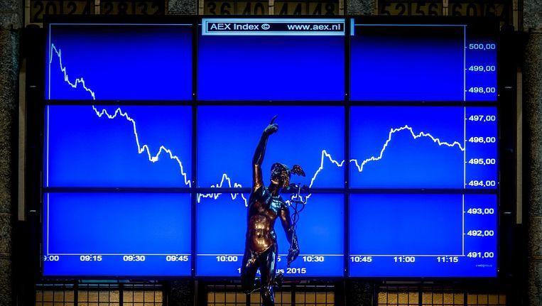De Amsterdamse aandelenbeurs is vrijdag licht hoger geopend. Beeld anp