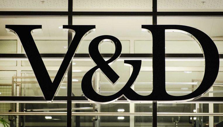 Exterieur van het hoofdkantoor van V&D Beeld anp