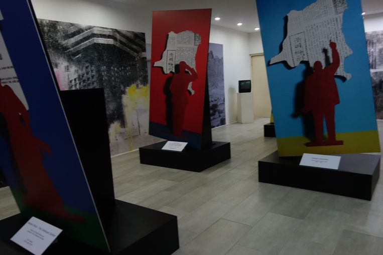 Werk van Adji Dieye in de Omenka Gallery. Beeld wb
