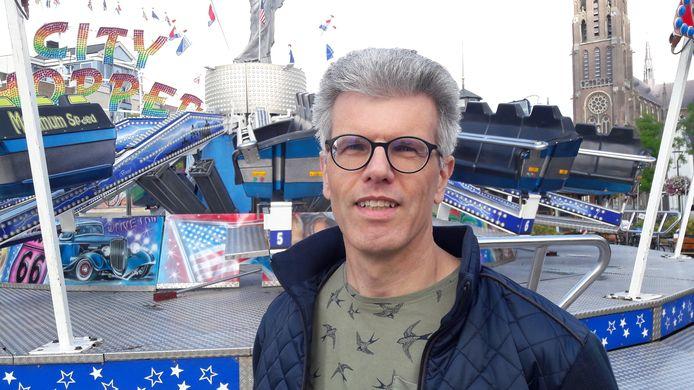Voorzitter Mike van den Biggelaar van de Stichting Kermissen Gemeente Veghel.