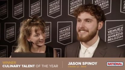 Jason Spinoy van Burnt is 'Culinary talent of the year'