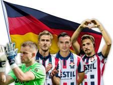 De 'Mannschaft' van WillemII: in iedere linie een speler met Duitse roots