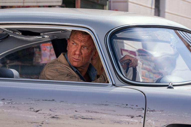 Daniel Craig in No Time to Die.  Beeld