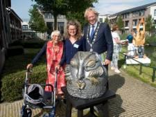 Stichting Op Visite tovert tuin Stefanna om in beeldentuin