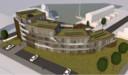 Een impressie van het appartementencomplex dat Marsaki aan de Beurtschippersstraat in Kortgene wil bouwen.