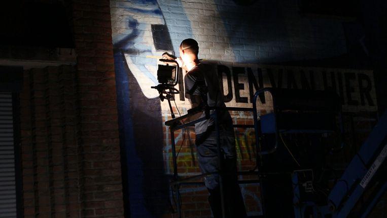 Commissariaat van Genkse politiezone uit Helden van Hier krijgt graffitikunstwerk.