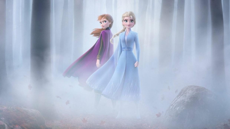 Anna en Elsa in 'Frozen 2'.