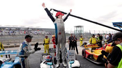 Straffe kost: amper 18-jarige Herta wint IndyCar in Austin