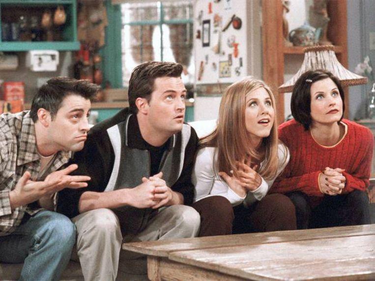 Still uit de comedyserie Friends Beeld RV