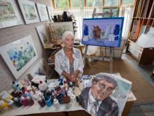 Très Oerlemans en haar overleden man blijven samen in de kunst