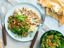 Wat Eten We Vandaag: Bloemkoolsteak met salade