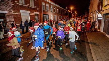 Geel Loopt voor eerste keer de Santa Run