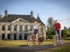 'Moonwalkend' door Noordoost-Twente op de loopfiets
