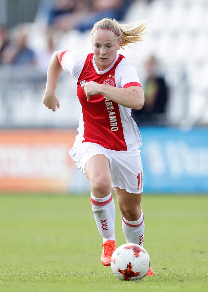 Lucienne Reichardt speelde de afgelopen twee seizoenen voor Ajax.