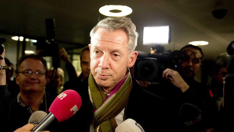 Burgemeester Onno Hoes van Maastricht. Beeld epa