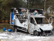 Bus met drugsafval uitgebrand in Best