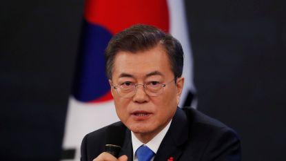 """Zuid-Koraanse president bereid Kim Jong-un te ontmoeten """"onder de juiste voorwaarden"""""""
