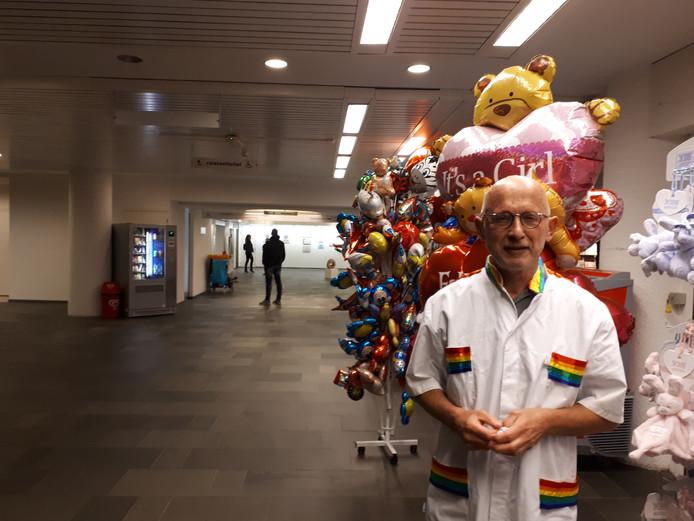 Hans Visscher maakt zijn laatste ronde in het Slotervaart Ziekenhuis