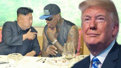 """""""Basketlegende Dennis Rodman zal ontmoeting tussen Trump en Kim Jong-un bijwonen"""""""