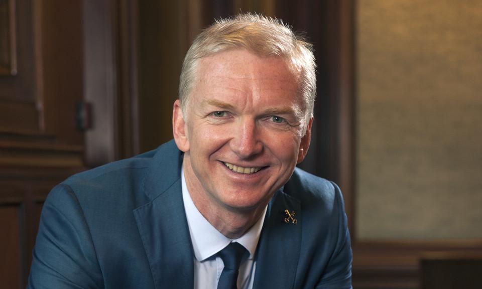 Robert Strijk, waarnemend burgmeester van Zwijndrecht.