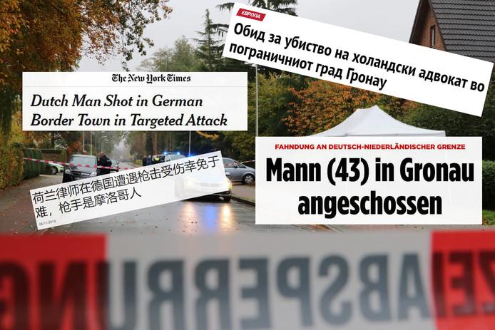 Compilatie van buitenlandse media