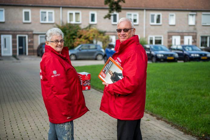 Lilian en André Pieters zetten zich in voor Delta Ride for the Roses om geld in te zamelen voor KWF Kankerbestrijding.