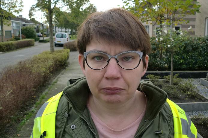 Jolanda van het buurtpreventieteam Sterrebos in Roosendaal