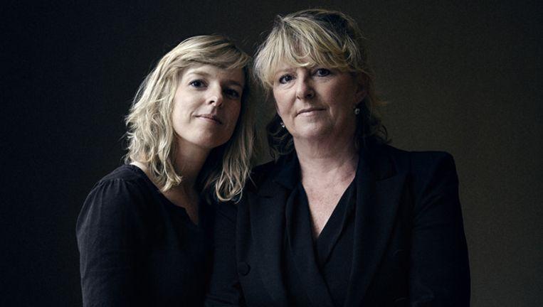 Hetty Nietsch en haar dochter Lisa Bom Beeld -