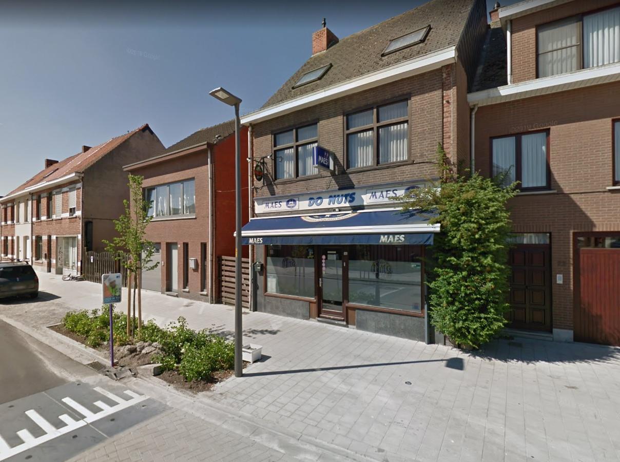 Café Do Nuts in de Lokerenstraat werd in de nacht van woensdag op donderdag overvallen.