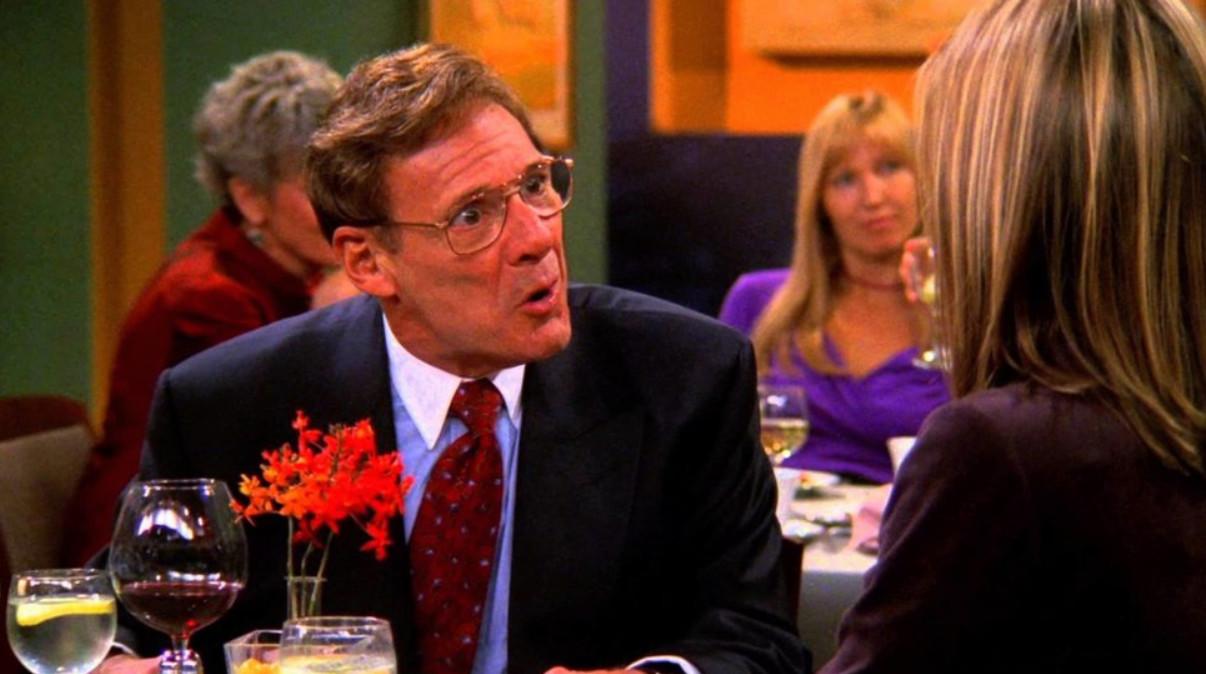 "Ron Leibman dans ""Friends""."