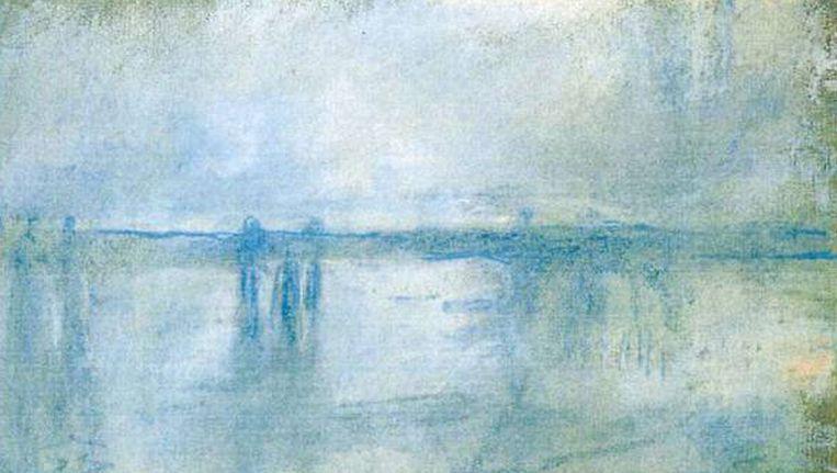 'Charing Cross Bridge, London' van Claude Monet. Beeld AP