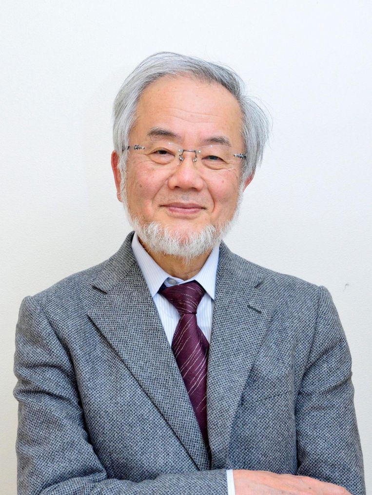 Yoshinori Ohsumi Beeld EPA
