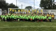 110 enthousiaste voetballertjes op zomerstage