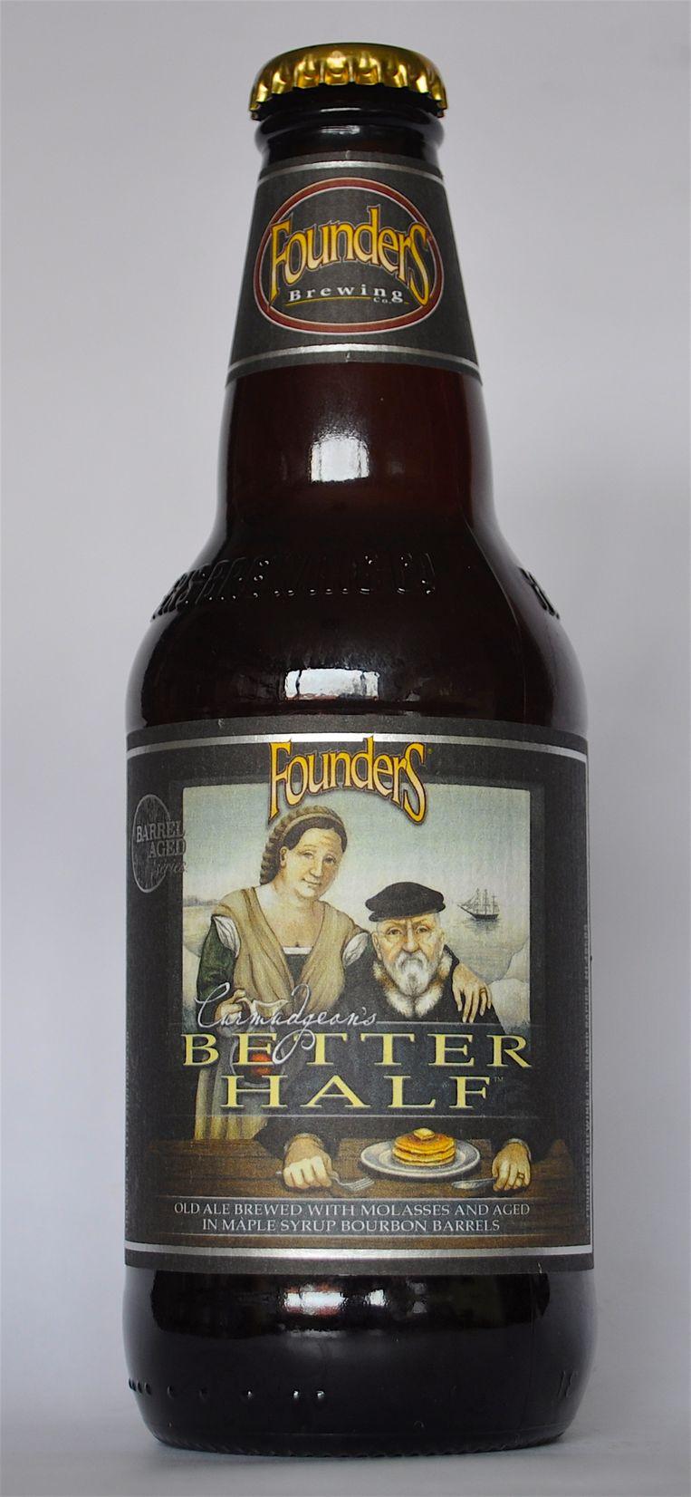 Brouwerij Founders hebben een old ale gecreëerd genaamd 'Curmudgeon's Better Half'. Beeld