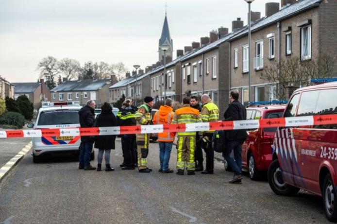 Een granaat werd aangetroffen bij een huis aan de Velgraafweg in Holtum.