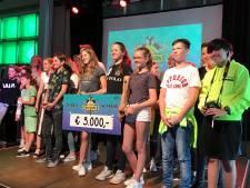 Leerlingen van Het Nieuwe Eemland winnen 3000 euro met bouwprijs