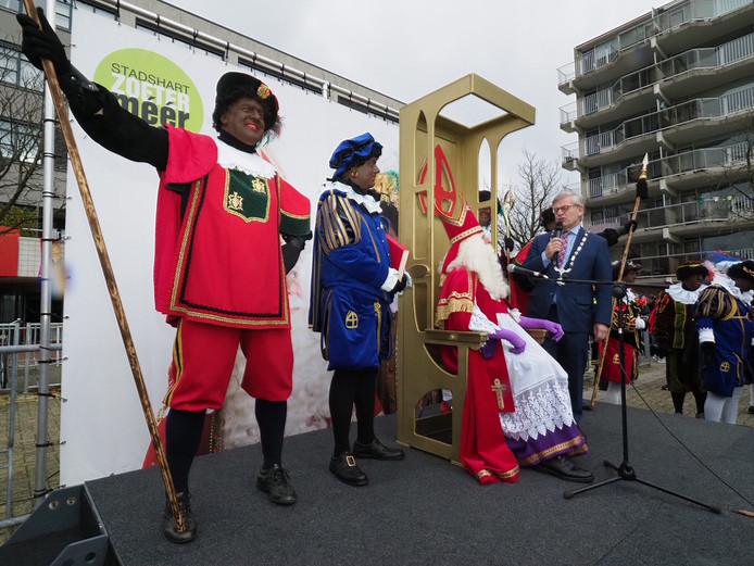Sinterklaas komt aan in Zoetermeer, archieffoto.