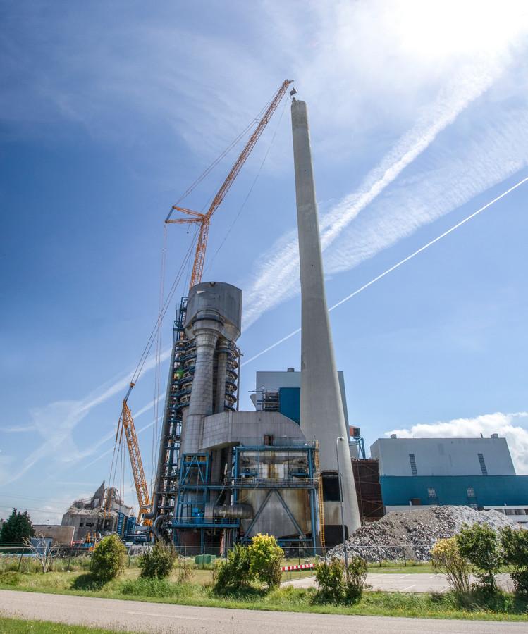 Archiefbeeld van de kolencentrale.