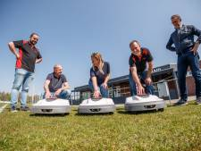 Robots maaien voortaan het hoofdveld van Prinsenland