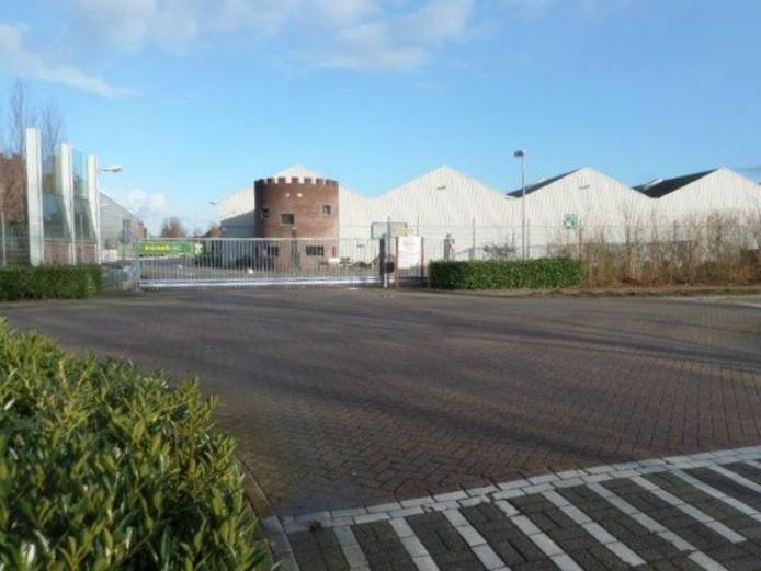 Het kruispunt Jagerspad- H.C. Hakstraat.