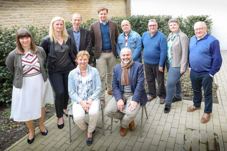 De kandidaten van CD&V Middelkerke.