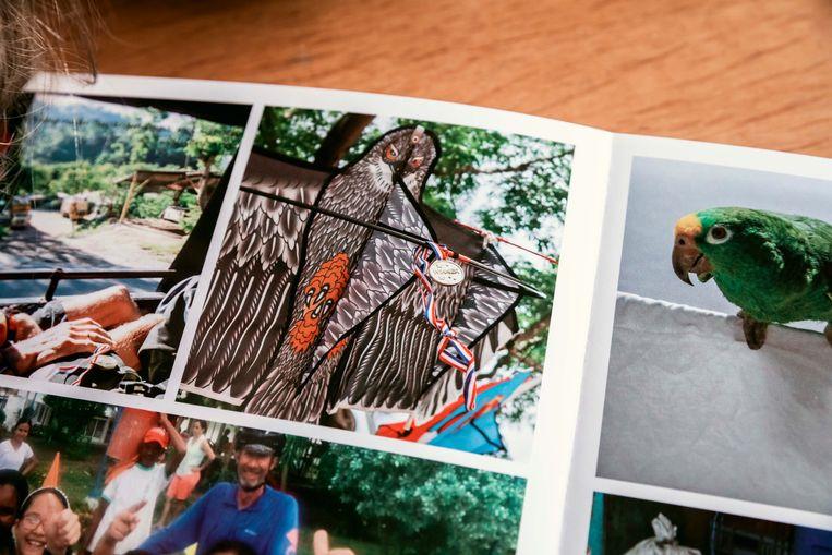 Het fotoboek van Sam.